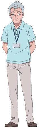 Hiroshi Yanaka trong vai ông nội của Kukuru