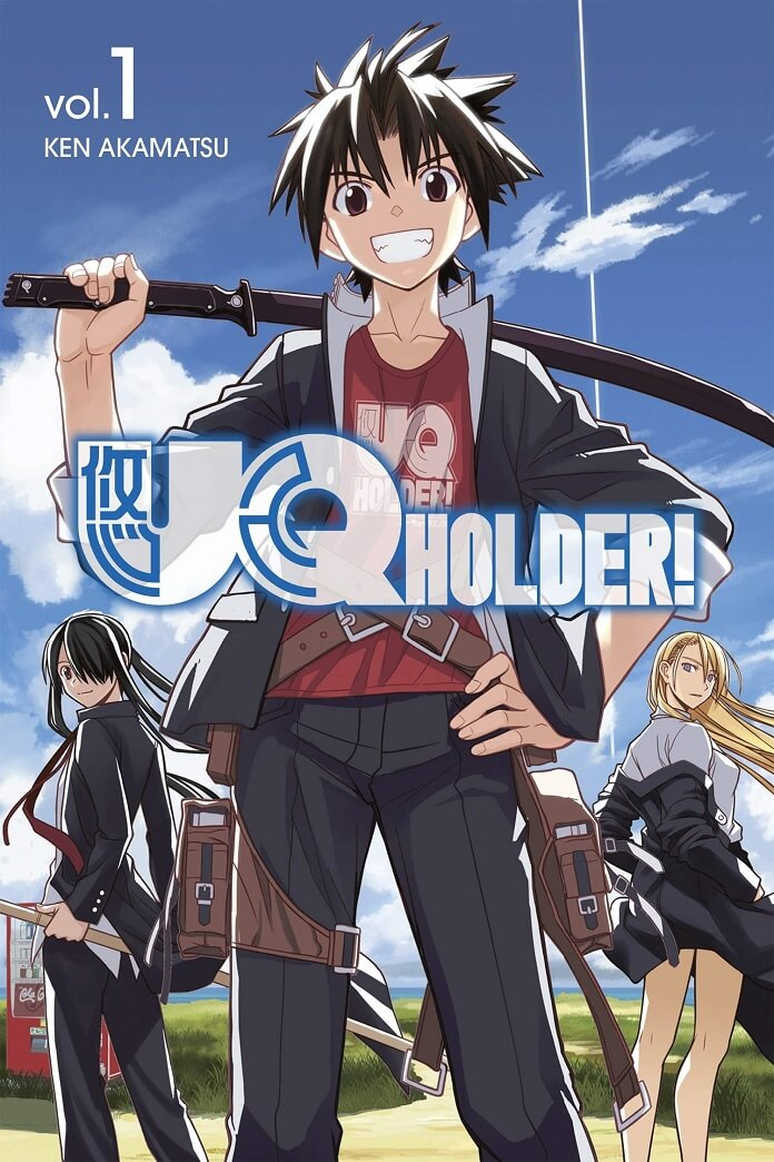 Manga UQ Holder! của Ken Akamatsu sẽ kết thúc trong 9 chapter tiếp theo