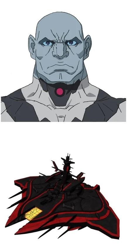 Trailer cho Movie đầu tiên của Space Battleship Yamato 2205 giới thiệu nhân vật mới Daeler