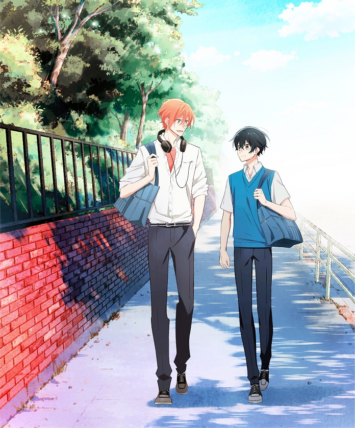 Anime Sasaki to Miyano sẽ ra mắt vào 01/2022
