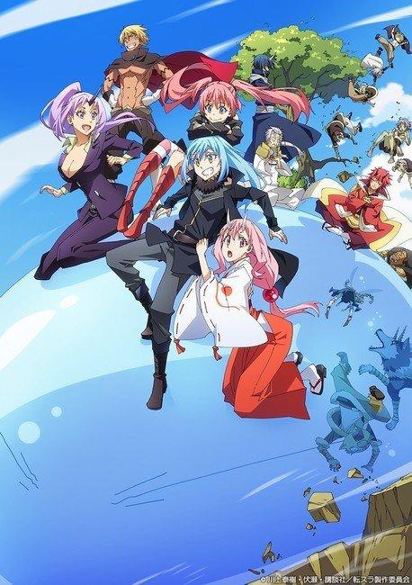 Anime That Time I Got Reincarnated as a Slime sẽ có Move vào Mùa Thu 2022