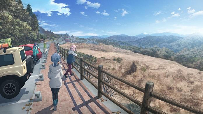 Movie Laid-Back Camp sẽ khởi chiếu vào đầu Mùa Hè 2022, tiết lộ hình ảnh mới